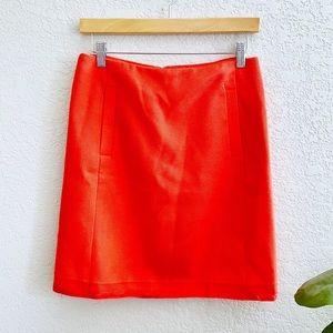 Banana Republic Orange mini Skirt Size 4